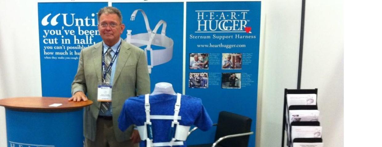 Craig at Heart Hugger Booth