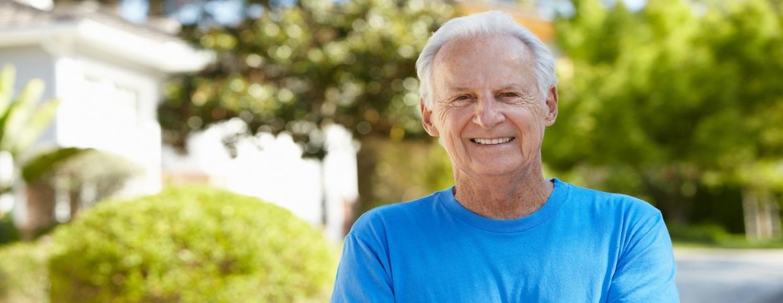 older man after heart surgery