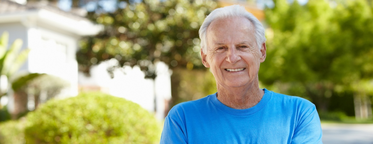 older man relieved of chest pain