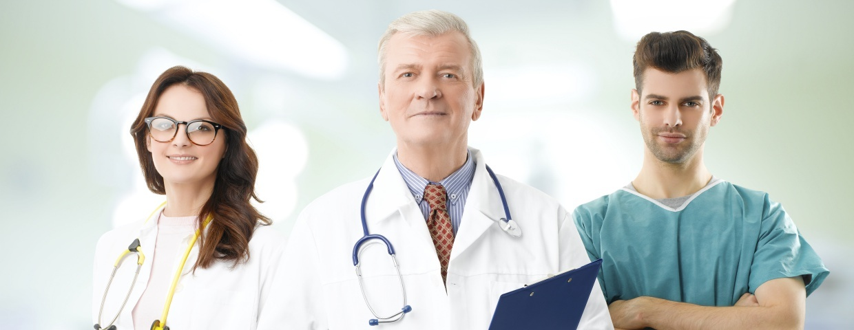 surgeon and surgical team