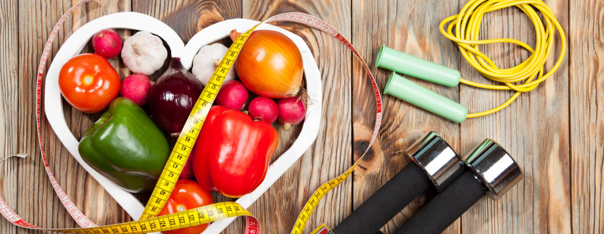 exercise and diet, healthy heart